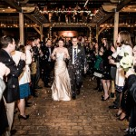 A Recessional filled with the magic of light and bubbles