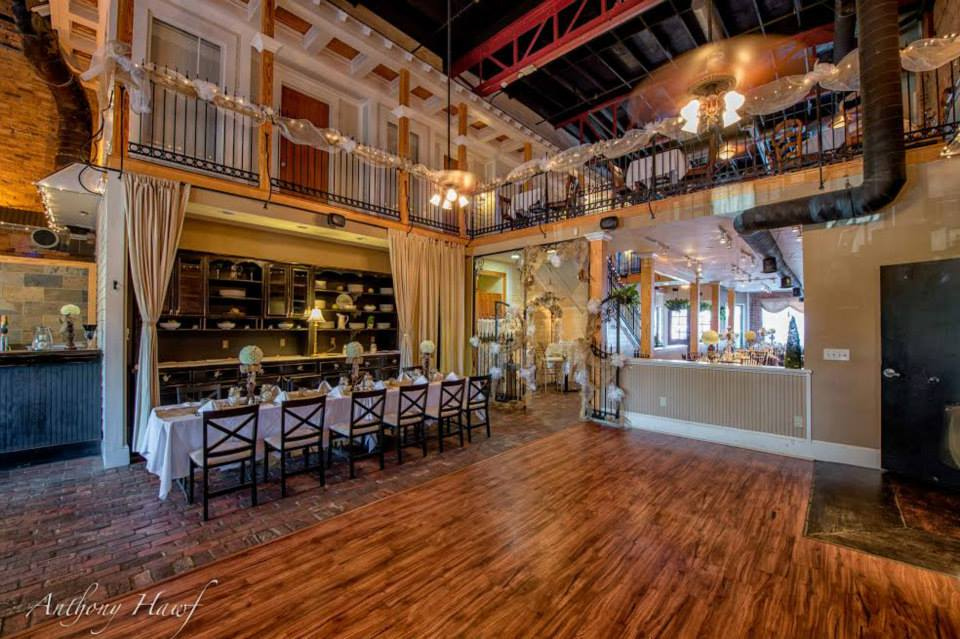 Inside Décor of the Conservatory at Waterstone Wedding Venue in Acworth, GA