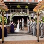 Outdoor Wedding Ceremony Site at the Conservatory at Waterstone in Acworth, GA